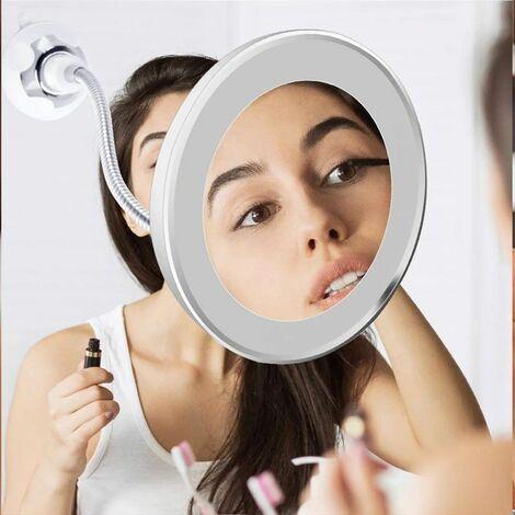 Miroir grossissant à LED
