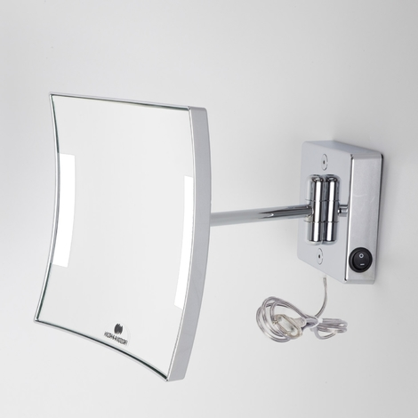 Miroir grossissant à LED Quadrolo bras simple IP20 alimentation externe - Koh-I-Noor C611KK3