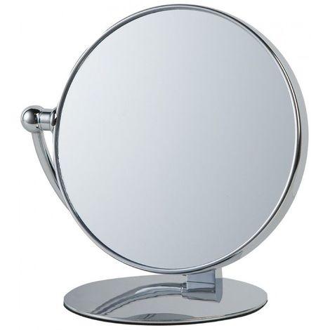 """main image of """"Miroir Grossissant à poser X10 - Finition Chrome - Diamètre: 20 cm - Chrome"""""""