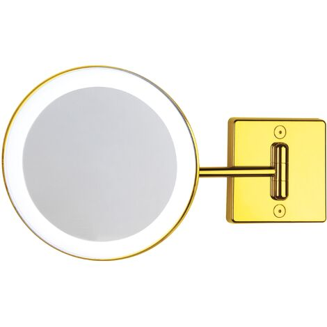 Miroir grossissant x3 à LED alimentation direct or - Koh-I-Noor C351G3