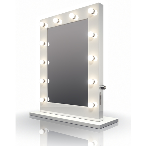 Hollywood De Maquillage Led Lampes Miroir Brillant Blanc Blanches mwv0N8nO