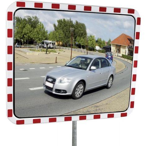 Miroir industriel acier inoxidable 60 x 80 cm