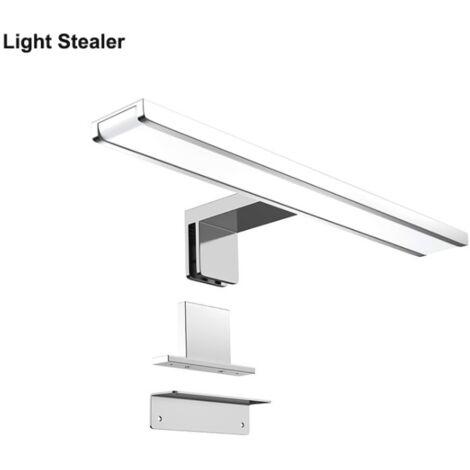 Miroir LED éclairage avant salle de bain miroir lumière AC85-265V salle de bain salle de bain lumière 300mm