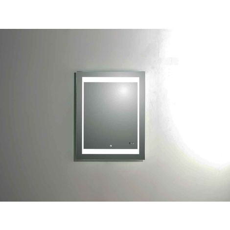 Miroir Led Silver Futura