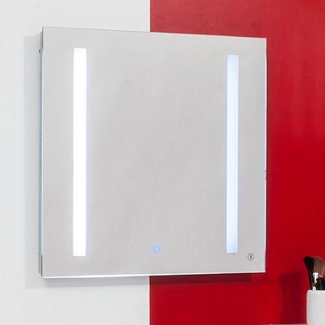 Miroir lumineux Bluetooth® Cadix 60 x 60 cm