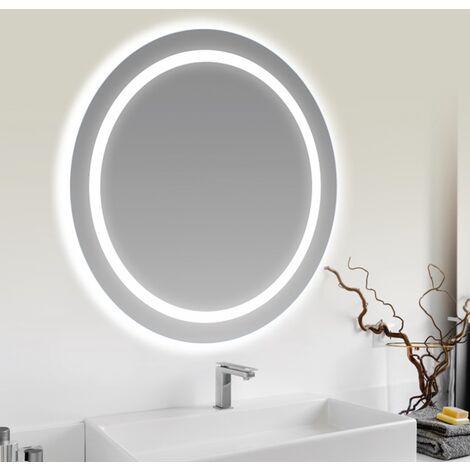Miroir lumineux EVO rond Ø65 cm