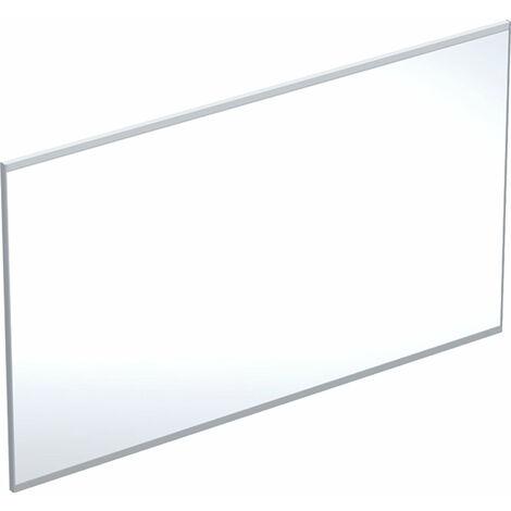Miroir lumineux Geberit Option Plus avec éclairage direct et indirect, largeur 120cm, aluminium brossé/argent, 501074001 - 501.074.00.1
