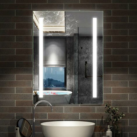 "main image of ""Miroir lumineux LED miroir de salle de bain anti-buée"""