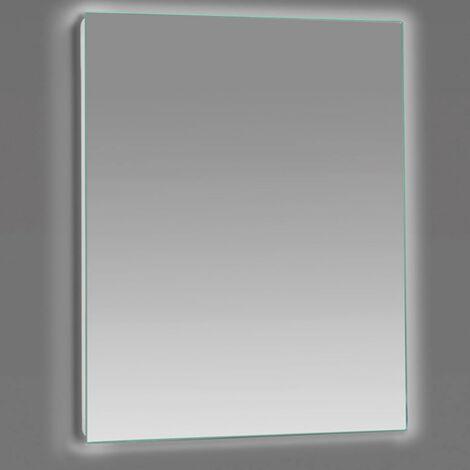 Miroir lumineux SENSO rectangulaire 80 x 70 cm