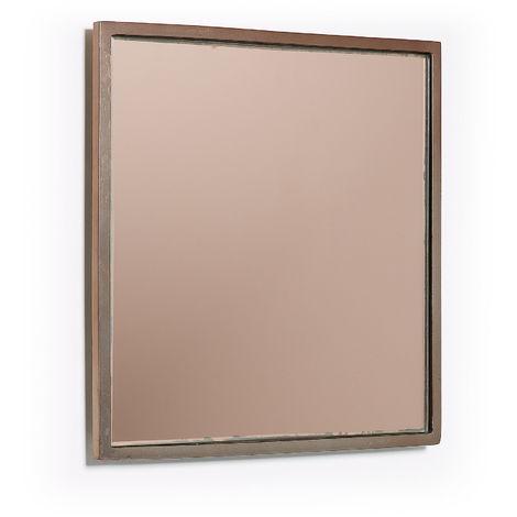 Miroir Mecata 25 x 25 cm cuivre