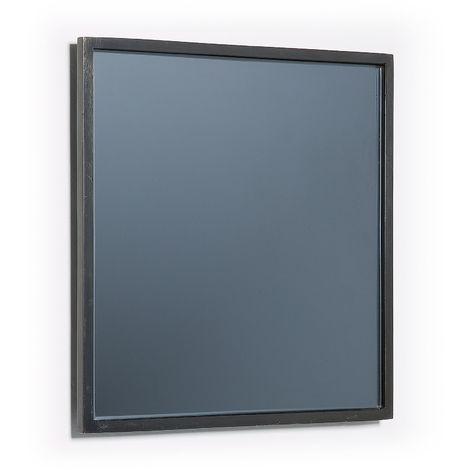 Miroir Mecata 25 x 25 cm noir
