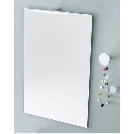 Miroir media 80 cm + applique