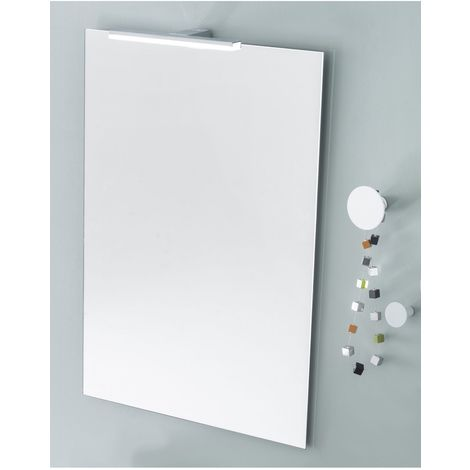 Miroir media 90 cm + applique