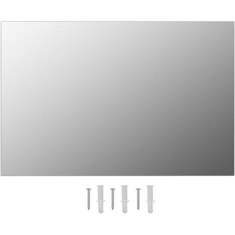 Miroir mural 60 x 40 cm Rectangulaire Verre