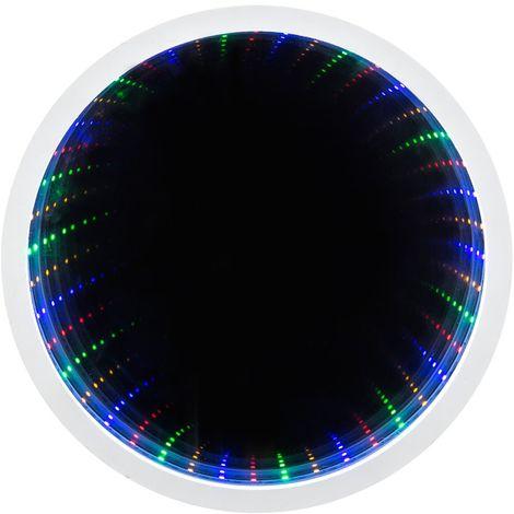 Miroir mural avec éclairage et LED RGB ROMANCE