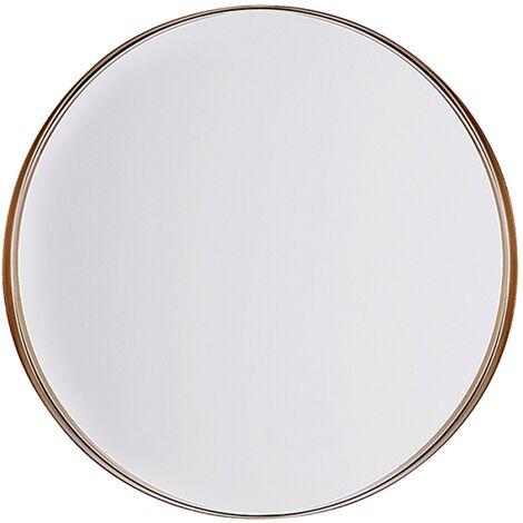 Miroir mural cuivré ø 40 cm PINEY
