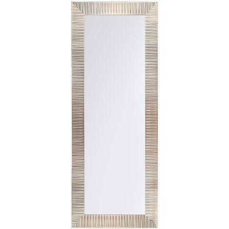 Miroir mural doré 50 x 130 cm DRAVEIL