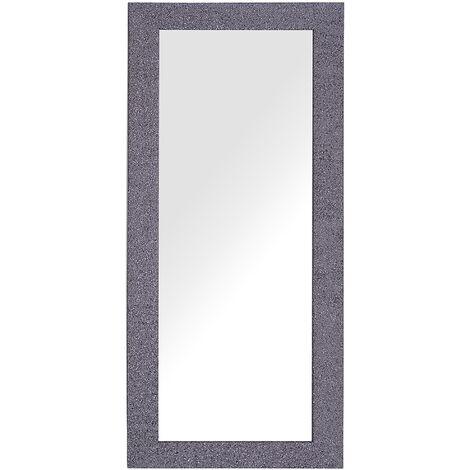 Miroir mural gris lilas 50 x 130 cm LILAS