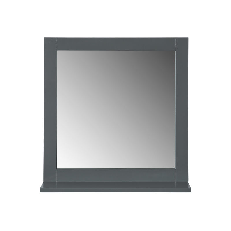 miroir mural meuble salle de bain avec 1 tage plateau. Black Bedroom Furniture Sets. Home Design Ideas
