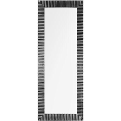 Miroir mural noir 50 x 130 cm DRAVEIL