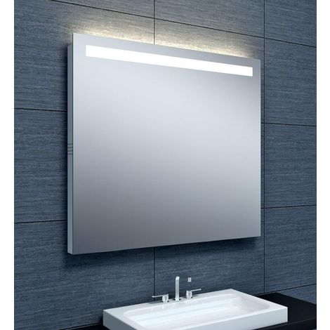 Miroir Musik ALTERNA eclairage LED bluetooth 90 x hauteur 80 cm