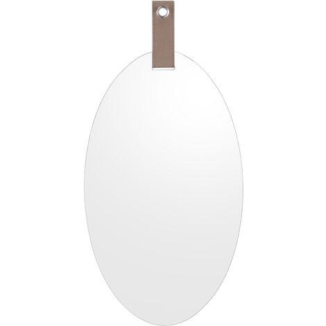 Miroir ovale à suspendre Cheeky