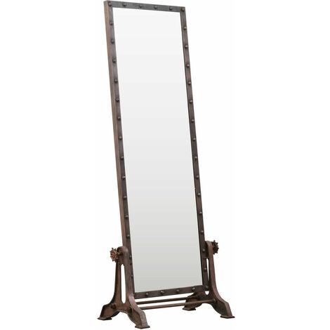 Miroir psyché métal