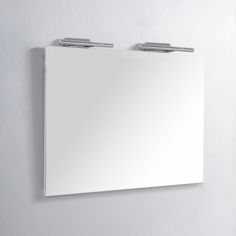 Miroir Rectangle De Salle De Bain Lampes LED 120x80 Cm