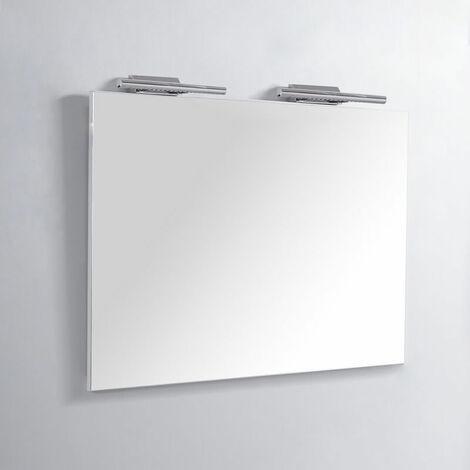 """main image of """"Miroir Rectangle de salle de bain - Lampes LED - 120x80 cm - Classic 120"""""""