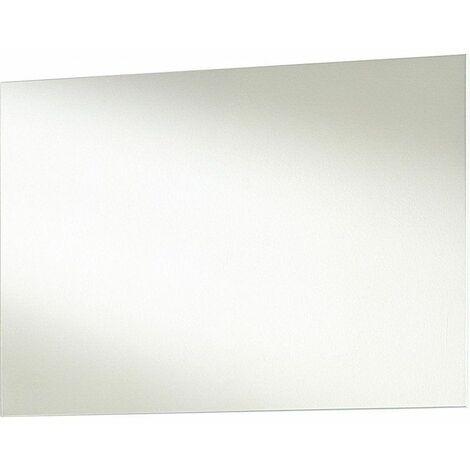 Miroir rectangulaire blanc Samy 80 cm