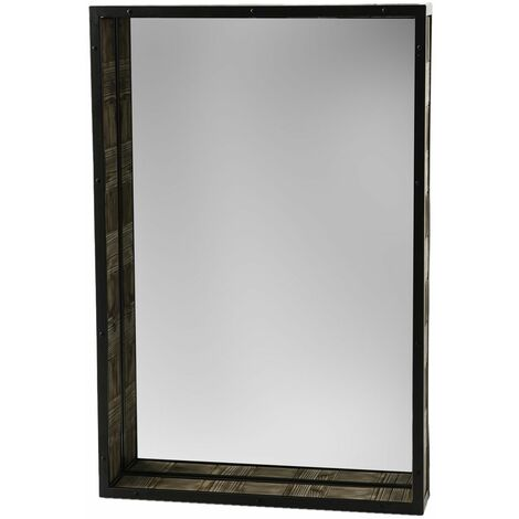 Miroir rectangulaire en bois Chalet