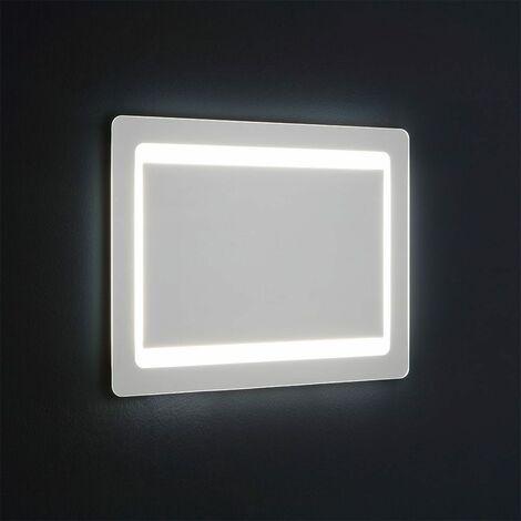 MIROIR RÉTROÉCLAIRÉ AVEC LED CM. 60X80 RÉVERSIBLE