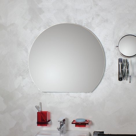 Miroir rond coupé avec meulage poli Filo Lucido Tronco Ø90 - Koh-I-Noor 45581