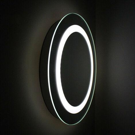 Miroir Rond lumineux de salle de bain - Rétro-éclairage LED - 50 cm - Fashion