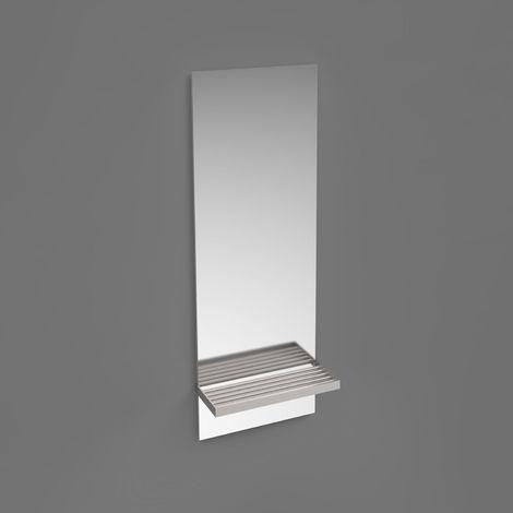 Miroir Salle de Bain avec Tablette L28 x H60 cm DOLI