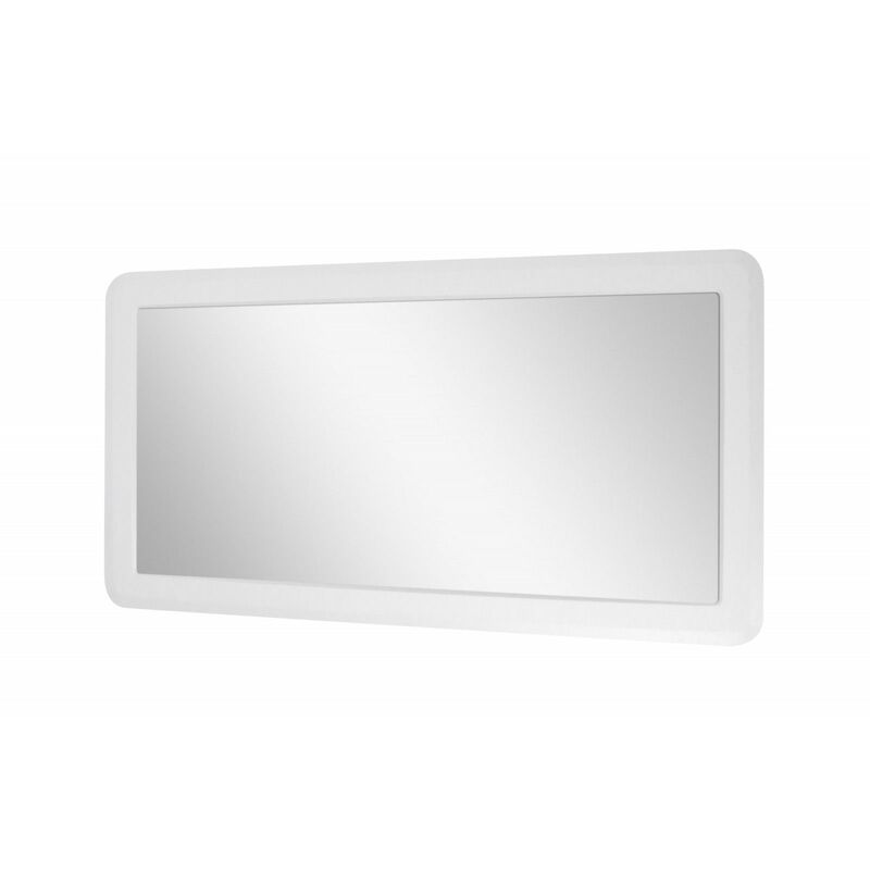 Miroir Salle De Bain Blanc L130 X H70 Boni 3760232691212