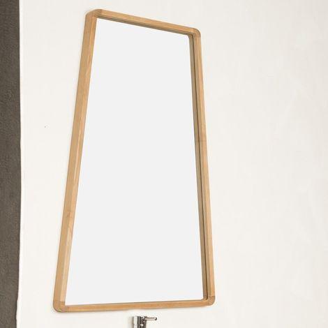 Miroir salle de bain en teck TIPI 110 X 69 cm