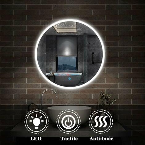 """main image of """"Miroir salle de bain rond anti-buée"""""""