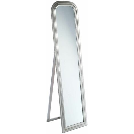 Miroir sur pied gris Adele 40X160 - Atmosphera