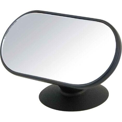 Miroir surveillance ventouse 12x6cm