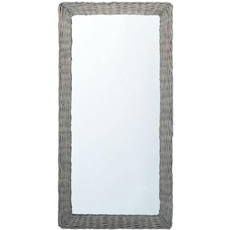 Mirror 120x60 cm Wicker