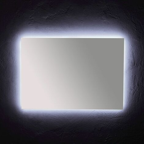 MIRROR AVEC ÉCLAIRAGE PÉRIMÉTRAL LED 100x70 CM