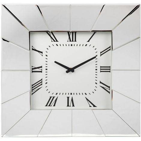 Mirror Glass Wall Clock 51cm