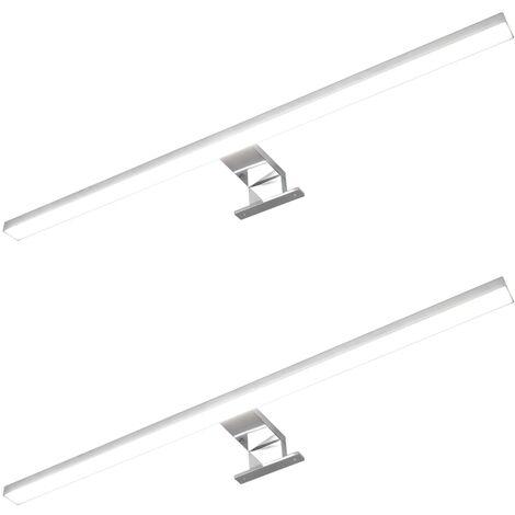 Mirror Lamps 2 pcs 8 W Cold White