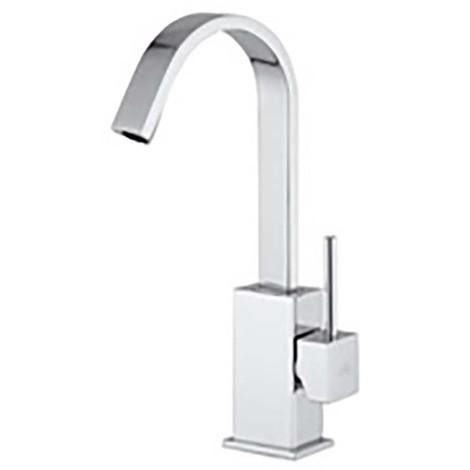 Miscelatore lavabo canna piatta orientabile Paffoni Level LEA878-LEA877