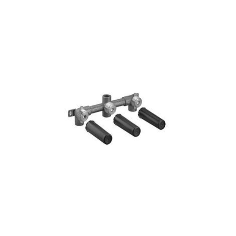 Miscelatore lavabo Dornbracht, bocca di erogazione centrale, kit premontato, 35707970 - 3570797090