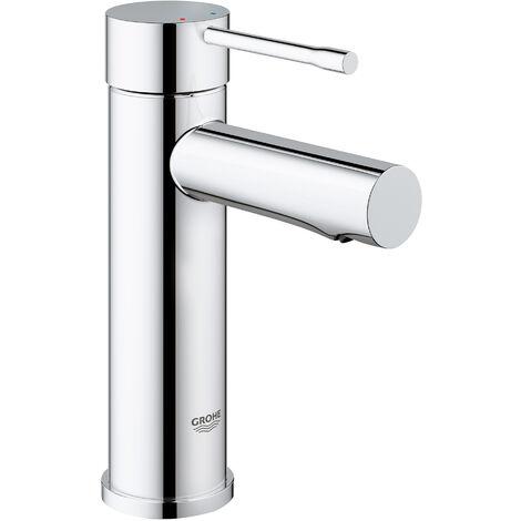 Miscelatore monocomando per lavabo Grohe Essence DN 15, dimensione S, installazione monoforo, senza scarico a scomparsa - 34294001