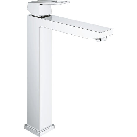 Miscelatore monocomando per lavabo Grohe Eurocube, taglia XL, per lavabo indipendente, senza scarico a scomparsa - 23406000