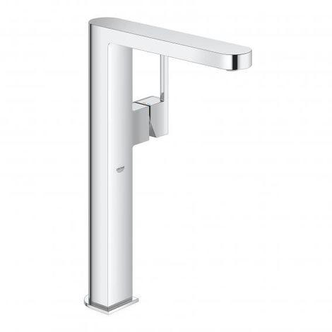 Miscelatore monocomando per lavabo Grohe Plus, DN 15, misura XL, per lavabi da appoggio, senza scarico a scomparsa, colorazione: cromo - 32618003