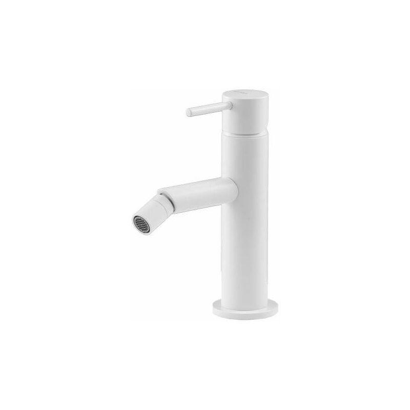 Miscelatore per bidet bianco opaco Gattoni Easy 2352/23BO | Bianco opaco Senza piletta di scarico